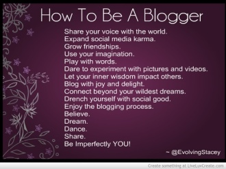 how-to-be-a-blogger